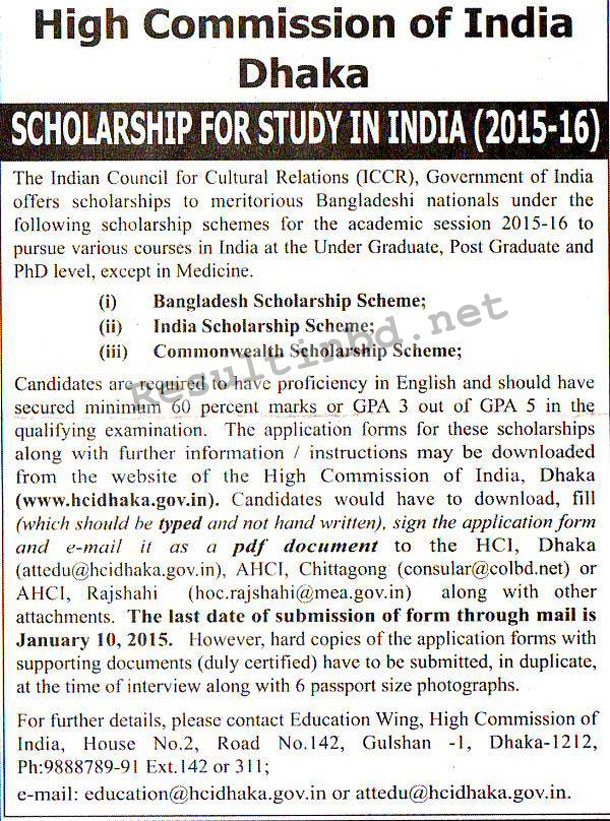 India-Scholarship-Notice