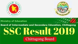 ssc result 2019 chittagong board