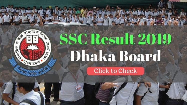 ssc result 2019 dhaka education board