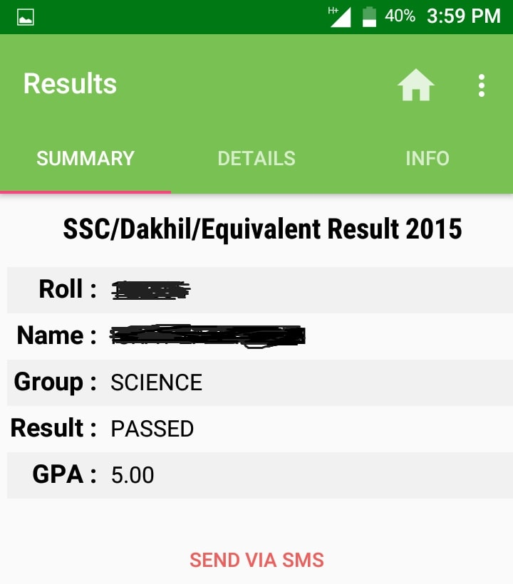 ssc result sylhet board android apps summary
