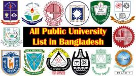 all public university in Bangladesh