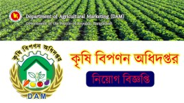 Department of Agricultural Marketing Job Circular 2019