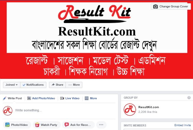 result kit facebook group