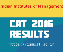 CAT 2016 Results Declared  – iimcat.ac.in