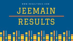 JEE Main Results 2017
