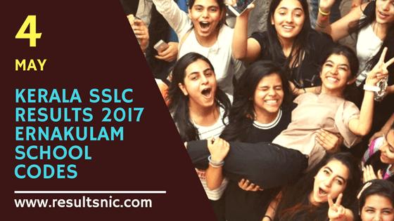 Kerala SSLC School Wise results Ernakulam District