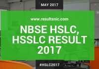 NBSE HSLC Results 2017
