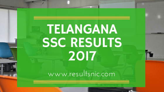 TS SSC Results 2017