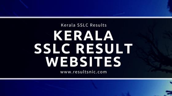 Kerala SSLC Result Official Websites