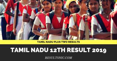 TN Board HSE 12th Result 2019