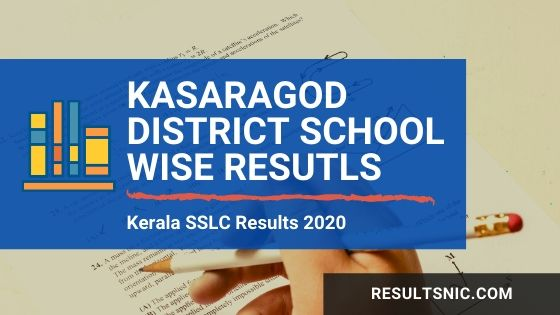Kerala SSLC School wise Results Kasargod district