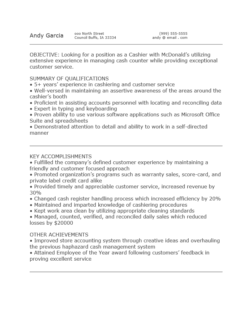 how to write job resume objective professional computer tech cover