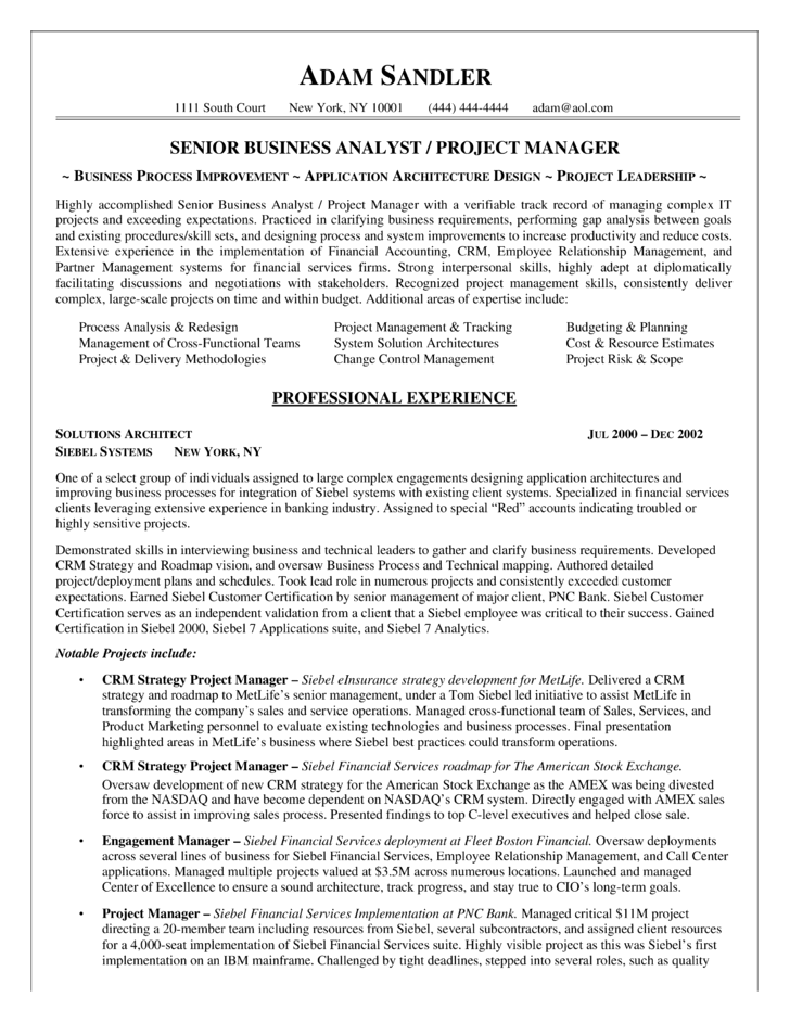 analyst resume ex les s les in addition business analyst resume