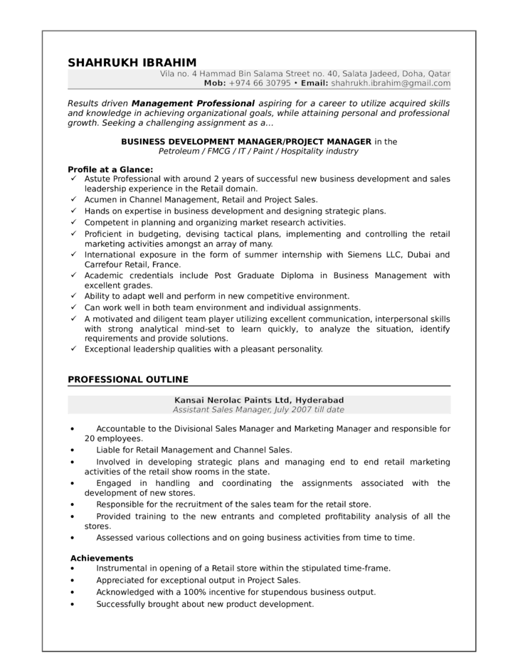 resume manager resume business skills examples resume business manager