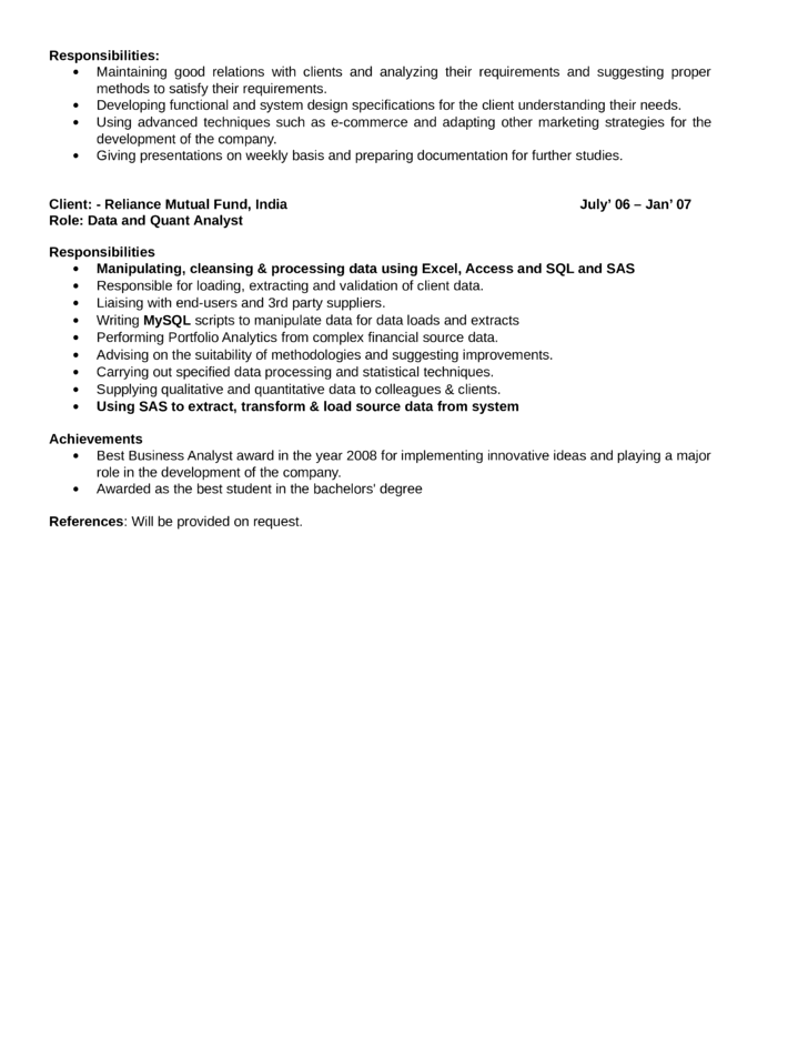 Data Analyst Resumes. Data Analyst Resume Sample Sample Resume