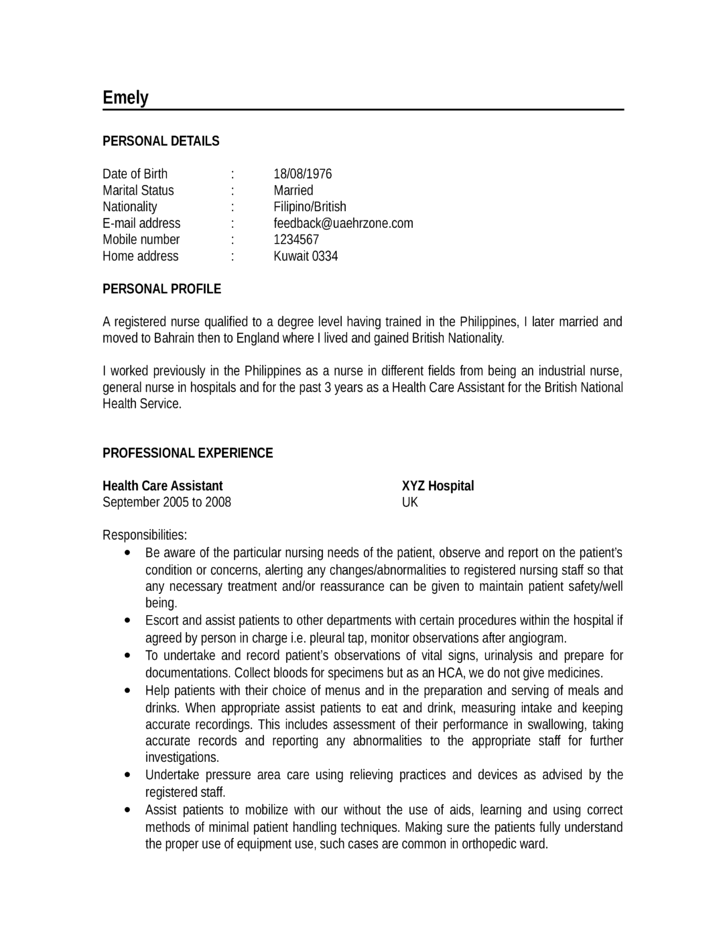 Chronological Resume Example. Chronological Resume Template 13