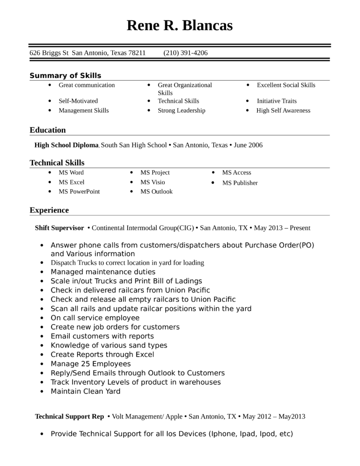 entry level amp freshers greeter resume template
