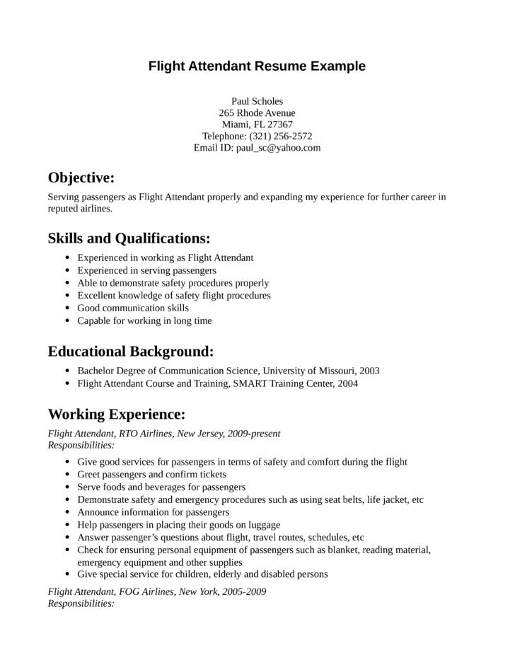 photos resume sample professional flight attendant resume sample