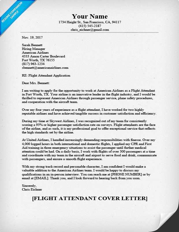 Cruise Attendant Cover Letter Restaurant Job Resume Flight Exle Doc 1501768614