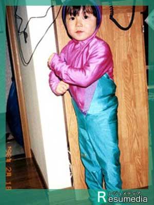 高木美帆 幼少期 3歳