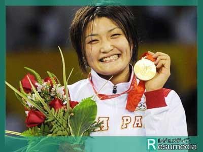 伊調馨 北京オリンピック 金メダル
