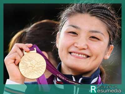 伊調馨 ロンドンオリンピック 金メダル