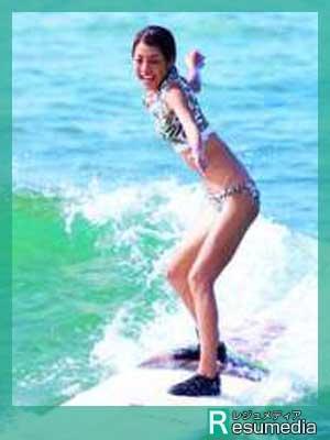 岡副麻希 サーフィン