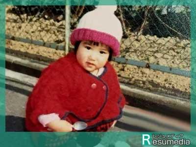 川田裕美 幼少期 1歳