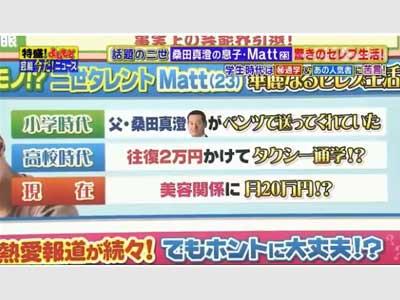 Matt テレビ