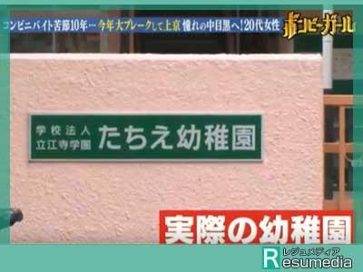 尼神インター 狩野誠子 幼稚園