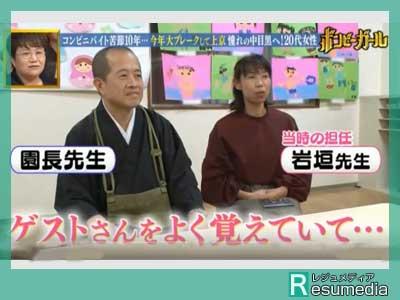 尼神インター 狩野誠子 幼稚園 園長先生 担任