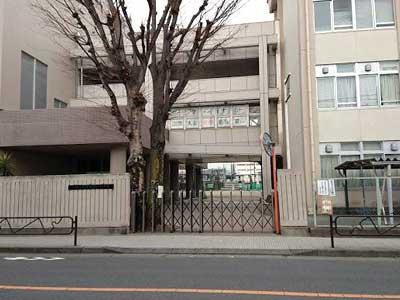 工藤静香 羽村市第二中学校