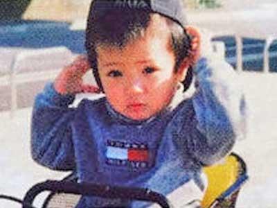 神宮寺勇太 幼少期 1歳