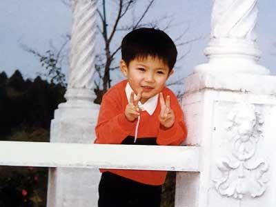 神宮寺勇太 幼少期 3歳