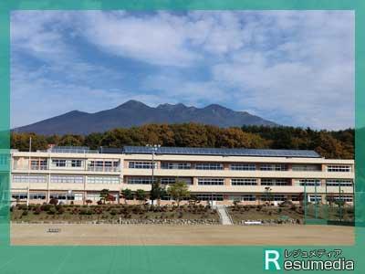 小松菜奈 小淵沢中学校