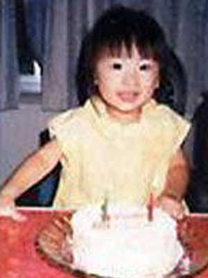 北川景子 幼少期2歳