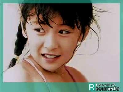 雛形あきこ 小学生時代 8歳