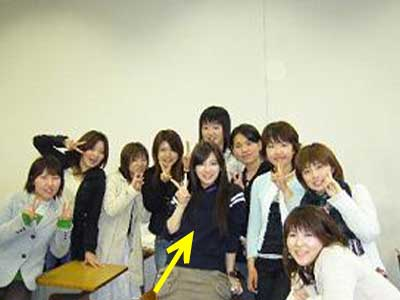 北川景子 大学2年生