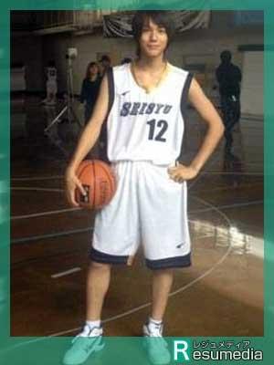 中川大志 中学 バスケットボール