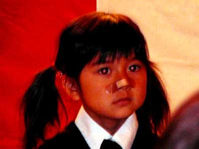 上白石萌歌 小学生時代 入学式