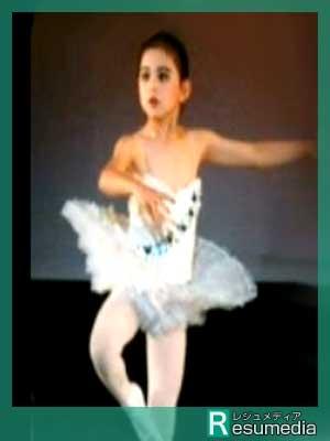 米倉涼子 幼少期 5歳