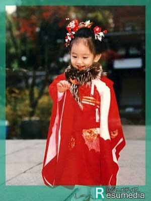 吉岡里帆 幼少期 3歳