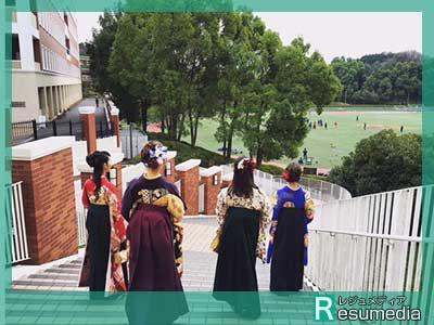 田原可南子 大学 卒業式