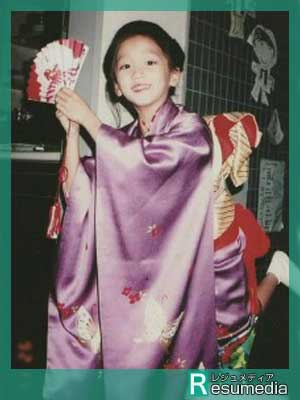 杏 小学生時代 日本舞踊
