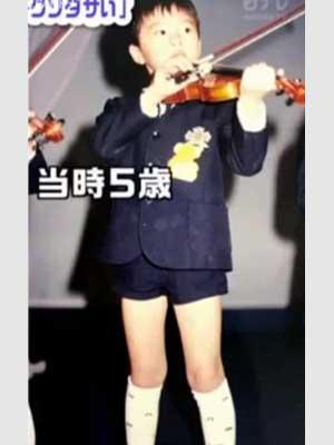 田中圭 幼稚園時代