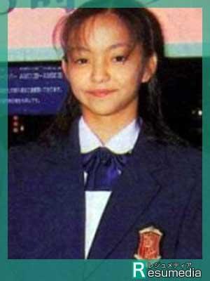 安室奈美恵 中学時代