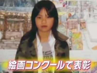 西野七瀬 小学生時代 絵画コンクール入賞