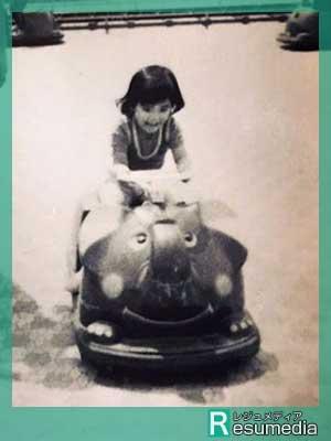 石田ゆり子 幼少期 5歳