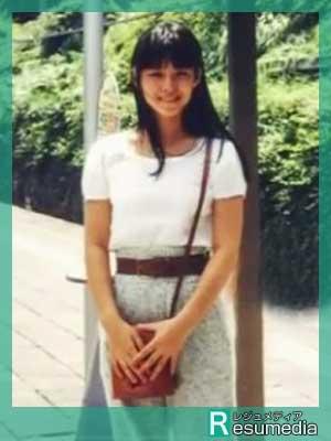 石田ゆり子 高校生時代 17歳