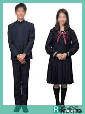 成蹊高校 制服参考画像